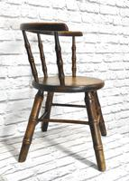 Child's Windsor Armchair with Faux Bamboo Turning (4 of 8)