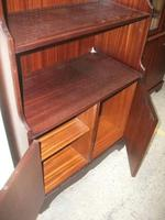 Waterfall Bookcase on Double Cupboard (3 of 3)