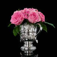 Georgian Solid Silver Loving Cup / Two Handled Cup - London 1748 (2 of 28)