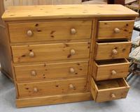 1960's Country Pine Merchants Chest Drawers (3 of 5)