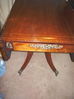 Beautiful Regency Inlaid Rosewood Pembroke Table c.1820 (3 of 3)
