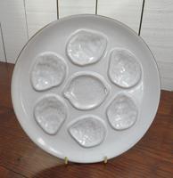 Set of Twelve Vintage Oyster Plates (2 of 6)
