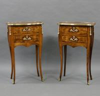 Fine Pair of Ormolu & Parquetry Side Tables (6 of 6)