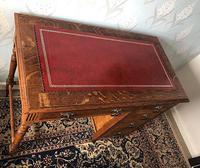 Small Arts & Crafts Oak Desk c.1907 (4 of 6)