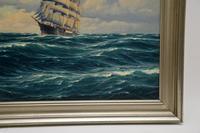 Antique Nautical Oil Painting (9 of 10)