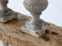 Pair of Vintage French Weathered Medici Urns (7 of 7)
