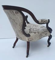 19th Century Rosewood Armchair (4 of 4)