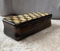 Early Victorian Horn Inlaid Snuff Box (4 of 11)