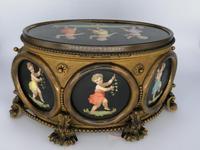 X Large Brass Framed Casket / Box c.1850 (2 of 7)
