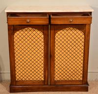 Regency Goncalo Alves Chiffonier / Side Cabinet (5 of 7)
