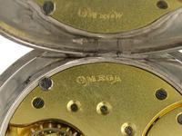 Silver 0.900 Omega Open Face Pocket Watch Swiss 1916 (7 of 7)