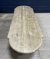 Huge French Bleached Oak Monastery Dining Table (30 of 30)