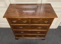 Lovely Antique Burr Walnut Chest of Drawers (2 of 14)
