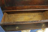 Late 17thC Oak Hanging Wall Cupboard. Mural or Spice Cabinet (6 of 17)
