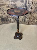 19th Century Chinoiserie Lamp Table (5 of 5)