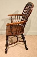 Ash & Elm Low Back Windsor Armchairs (6 of 9)