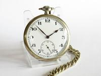 1930s Recta Pocket Watch & Chain (2 of 5)