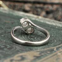 The Toi Et Moi Dial Old European Cut Vintage Diamond Ring (7 of 7)