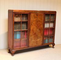 Burr Walnut Bookcase by Heals (9 of 11)