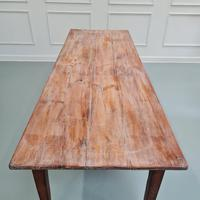 Antique French Farmhouse Table c1840 (5 of 6)