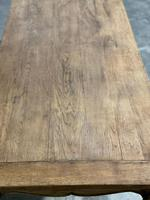 French Oak Farmhouse Kitchen Dining Table (5 of 18)