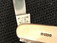 Sir Colville Smith  5368 gold pocket knife Masonic (6 of 15)