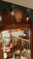 Antique Sheraton Inlaid Wall Mirror (2 of 5)
