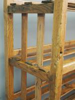 Victorian Industrial Pine Deed Rack / Wool Rack (3 of 10)