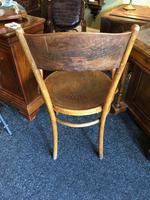 Antique Bentwood Chair J J Kohn Austria Stamped Original Rare Surviving Design (6 of 8)