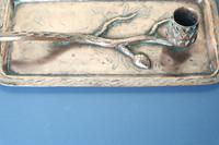Arts & Crafts / Art Nouveau, Jugendstil Copper Pine Cone & Branch Candle holder c.1910 (7 of 28)