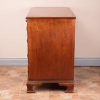 Mahogany Kneehole Desk With Brushing Slide (3 of 17)