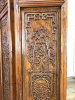 Chinese Elm Carved Screen (8 of 13)