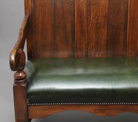 18th Century oak and fruitwood settle (6 of 11)