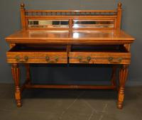 Victorian Oak Hall Table (2 of 4)