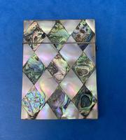 Victorian Mother of Pearl & Abalone Card Case (7 of 11)