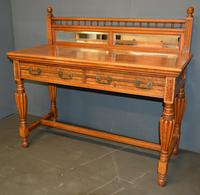 Victorian Oak Hall Table (4 of 4)