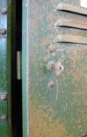 Vintage Industrial 15 Door Metal Workshop Cabinet Locker c.1930 (11 of 14)
