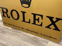 Rolex Shop Front Adverting Heavy Swinging Sign Mayfair London (5 of 27)