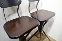 Pair of 1930s Factory Chairs (3 of 6)