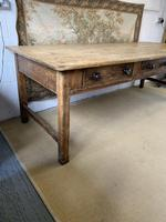 Superb Large 19th Century Pine Kitchen Table (3 of 10)