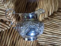 Edwardian Solid Silver Cream Jug (5 of 6)