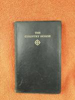 1934 The County House, Volume 2  by John Galsworthy, Leather Bound Book