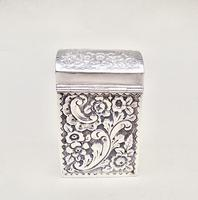 Victorian Silver Patience Card Box by Nathan & Hayes, Chester 1900 (11 of 11)