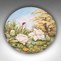 Antique Decorative Charger Plate, English, Ceramic, Dish, Art Nouveau, Victorian (4 of 12)