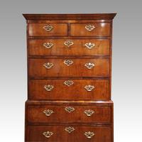 George III Walnut Chest on Chest (8 of 13)
