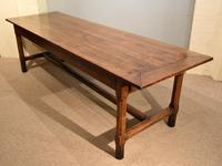 19th Century French Cherry Wood Farmhouse Table (8 of 8)