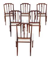 Set of 6 19th Century mahogany dining chairs Baker of Bath (2 of 11)