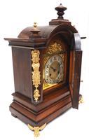Fantastic Antique German HAC Bracket Clock – 8 Day Striking Mantel Clock c.1900 (9 of 12)
