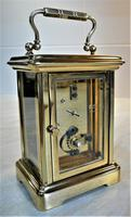 1940's Bornand Frères English Made Carriage Clock (5 of 7)