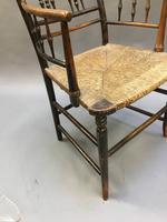 Regency Painted Sussex Chair (7 of 12)